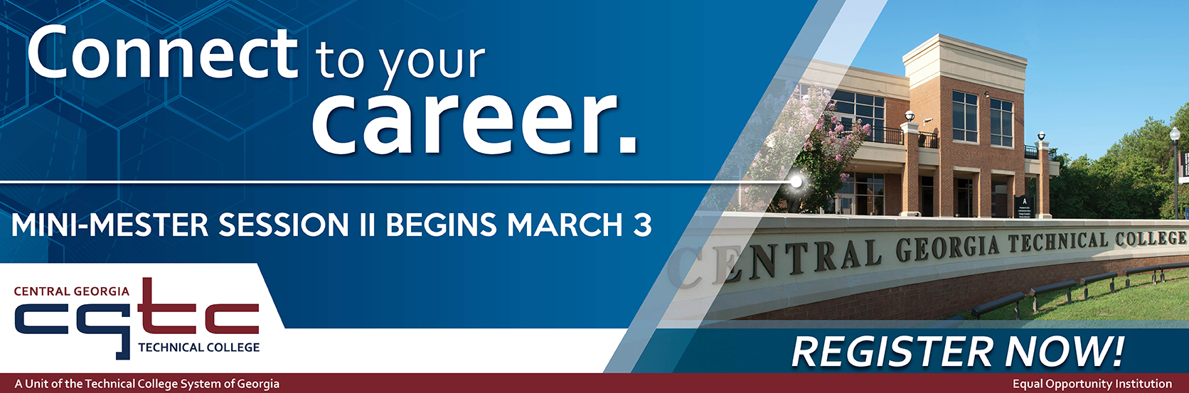 Mini-Mester Session II Begins March 3, 2017. Earn full course credit in just eight weeks! Register now for classes!