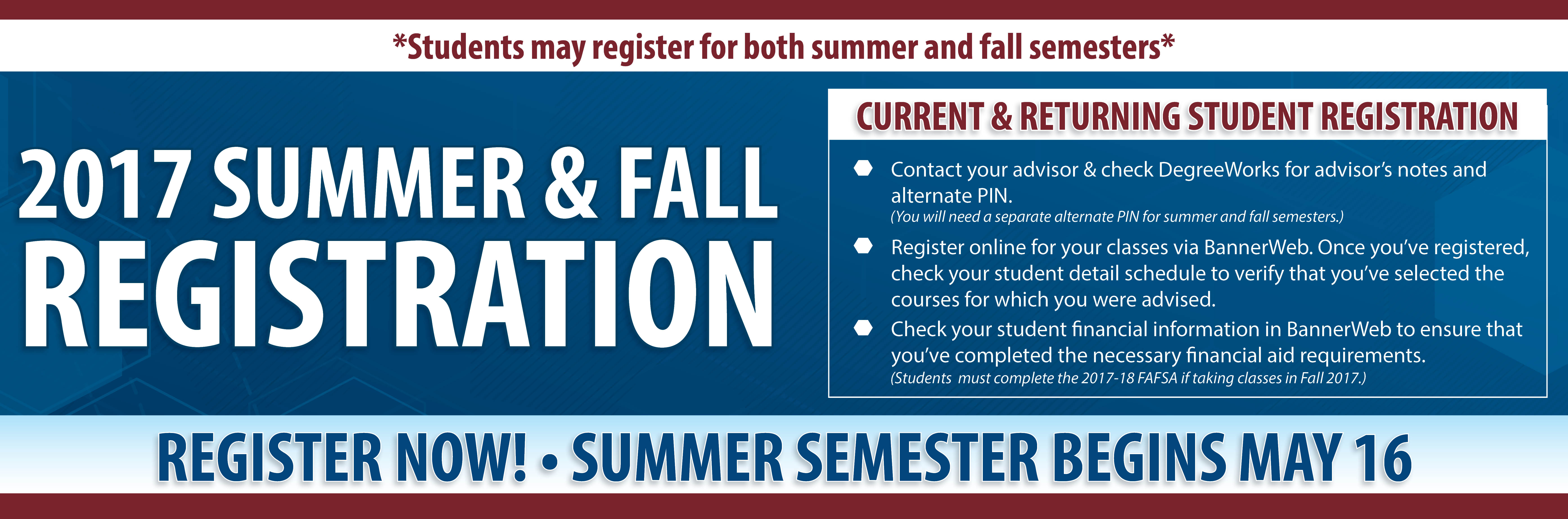 central technical college beginning 13 students will now have the opportunity to register for summer and fall